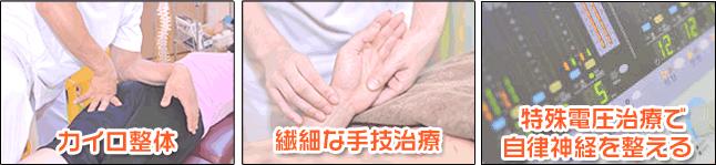 カイロプラクティック整体とは洗練された手技治療と鍼灸